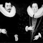 Sir John and Lady Mary Harington--Sir John was Elizabeth I