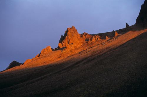light sunset sun island fire iceland rocks landmannalaugar pentaxspotmatic