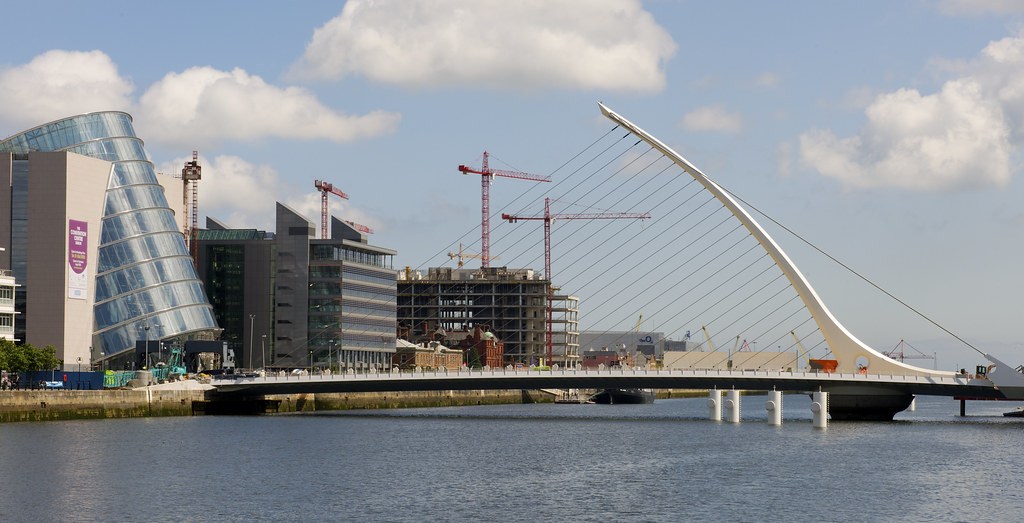 Calatrava Bridge Dublin