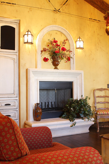 Tuscany Style Fireplace Stirling Designers Work Closely