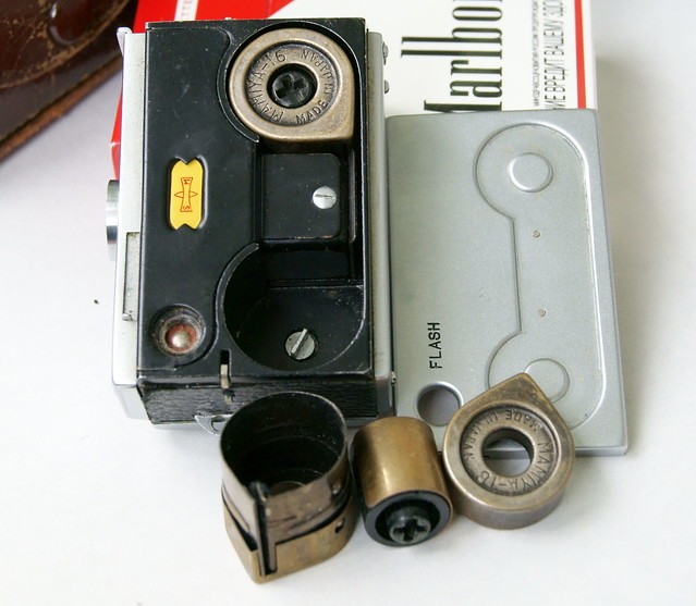 Mamiya Super-16: Film cartridges