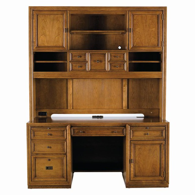 Stanley Furniture Continuum Computer File Desk Amp Hutch