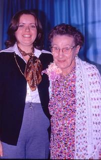 Karen and her Grandmother 95th Birthday