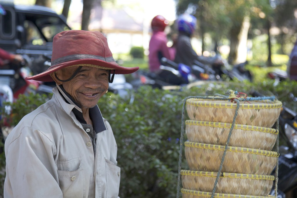 Javanese fellow at the Malabar Tea Plantation market