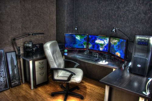 My HDR home office