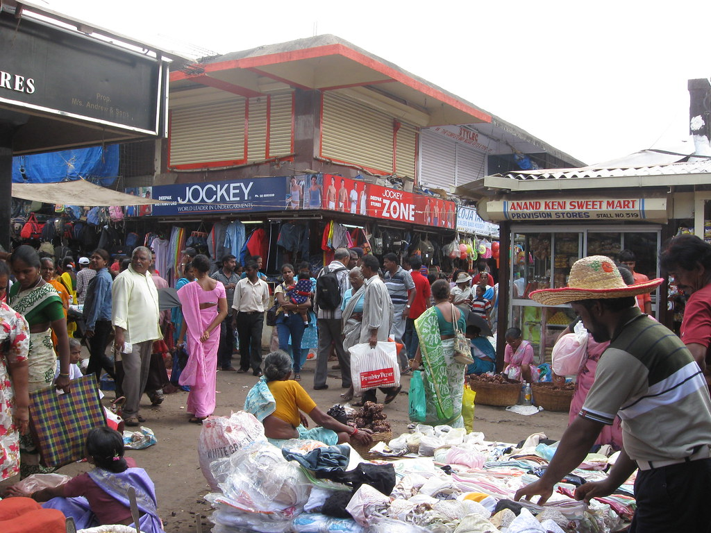 Crowded Mapusa Friday Market