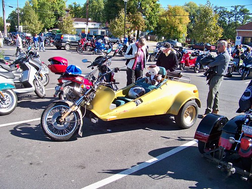 Trike at the Cops, Kids and Toys Waterfont run, Sept 09