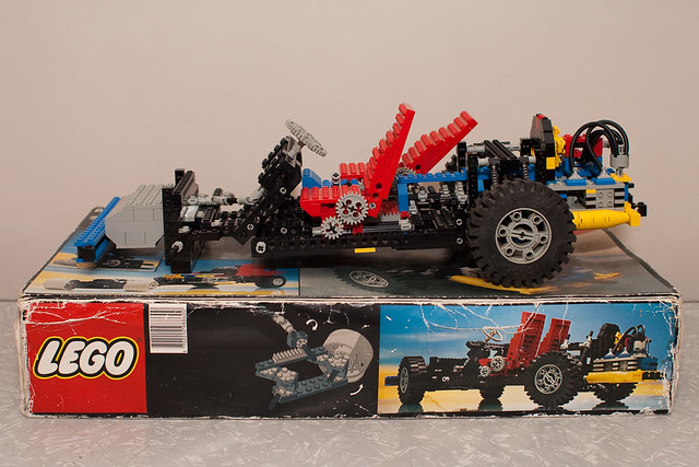 Lego Car Chassis (8860) with box