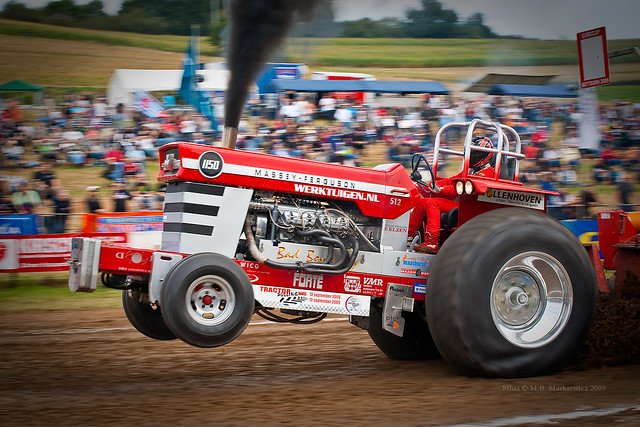 Bad Boy Toys : Bad boy s toy at tractor pulling eurocup finals