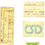Railway and Tram Ticket miscellany.  c 1990-3
