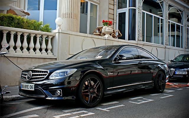 Black On Black Mercedes Cl 21