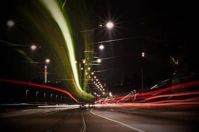 Wettsteinbrücke & long exposure