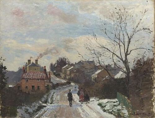 fox-hill by Camille Pissaro