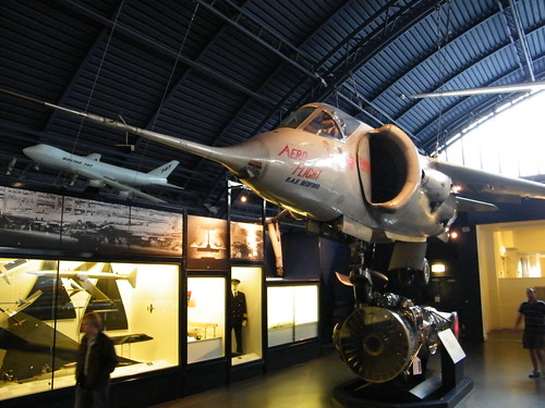 Harrier in the Museum of Science by _Radim on Flickr.  Used through Creative Commons.