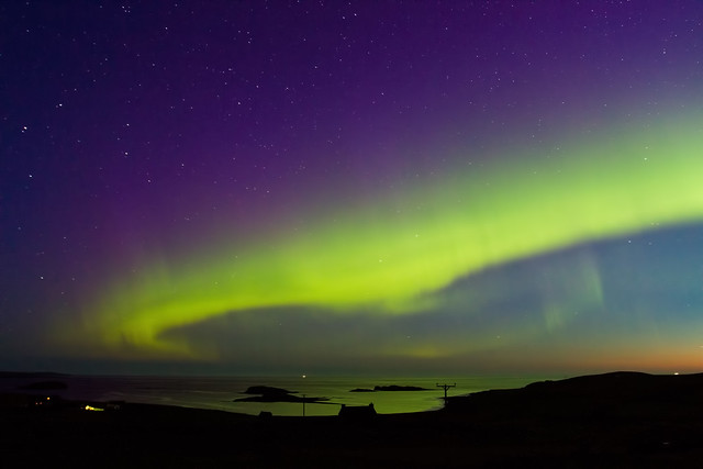 Northern lights in the UK
