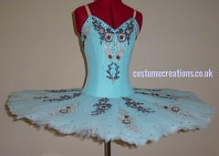 Aquamarine/silver/grey Tutu - suitable for ballet Le Corsaire