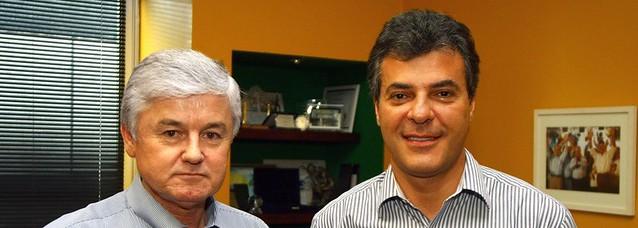 Tucanos Valdir Rossoni, Secretário da Casa Civil, e Beto Richa - Créditos: Divulgação