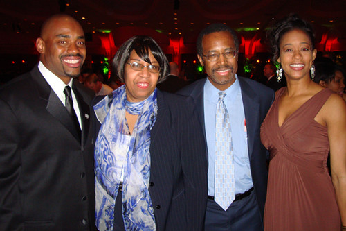 Benjamin Carson Family Images
