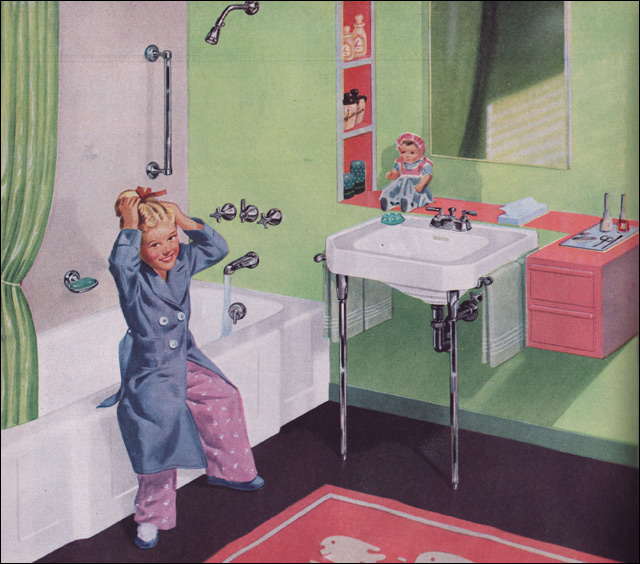 1950s bathrooms a gallery on flickr for 1950s bathroom ideas
