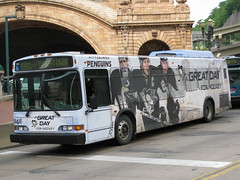 Port Authority Bus in Pittsburgh