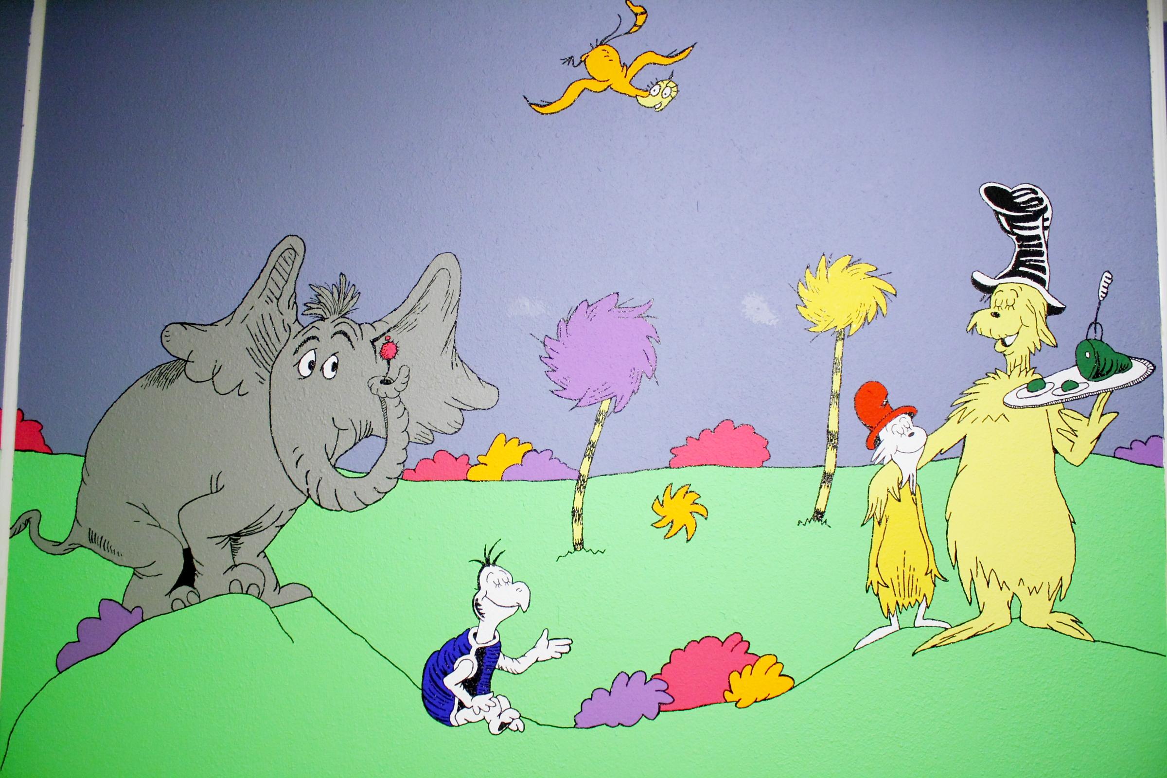 Dr Seuss Nursery Room Ideas