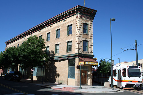 The Rossonian Hotel Building denver