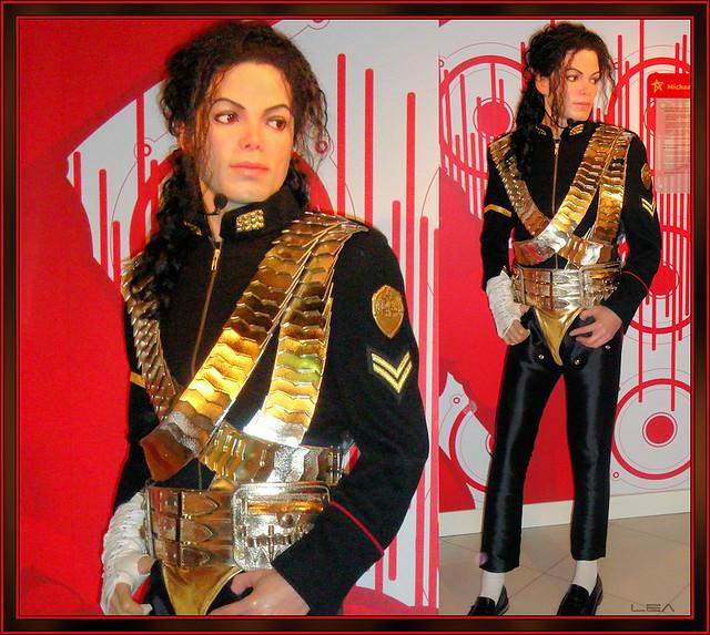 Michael Jackson's wax figure at Madame Tussauds Berlin