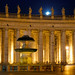 Night walk in St. Peter's Square by MarcelGermain