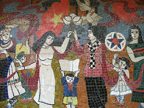 Communist mosaic