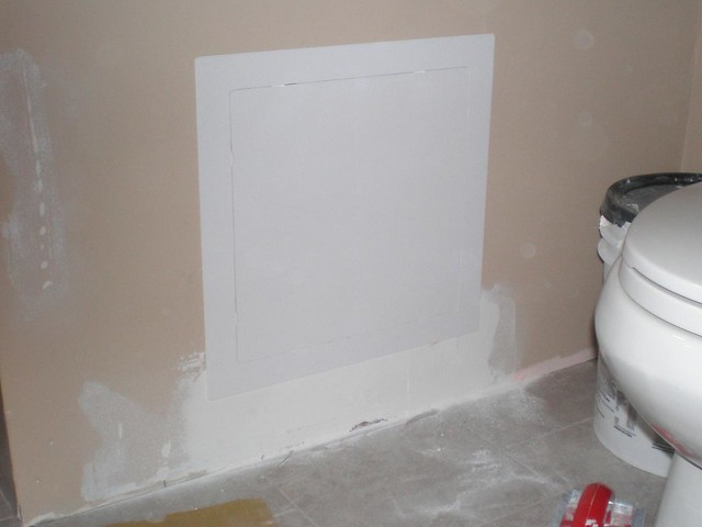 Auto Touch Up Paint >> 20090820 - Bathtub plumbing access panel   Flickr - Photo ...