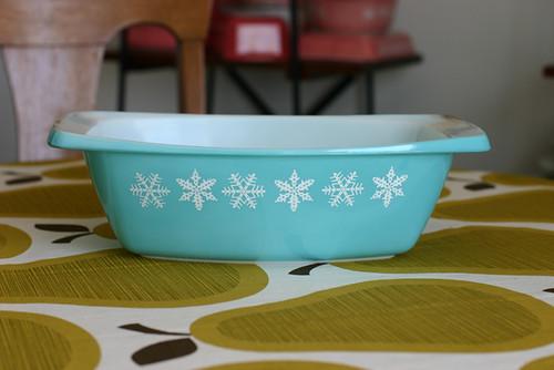 Snowflake Dish