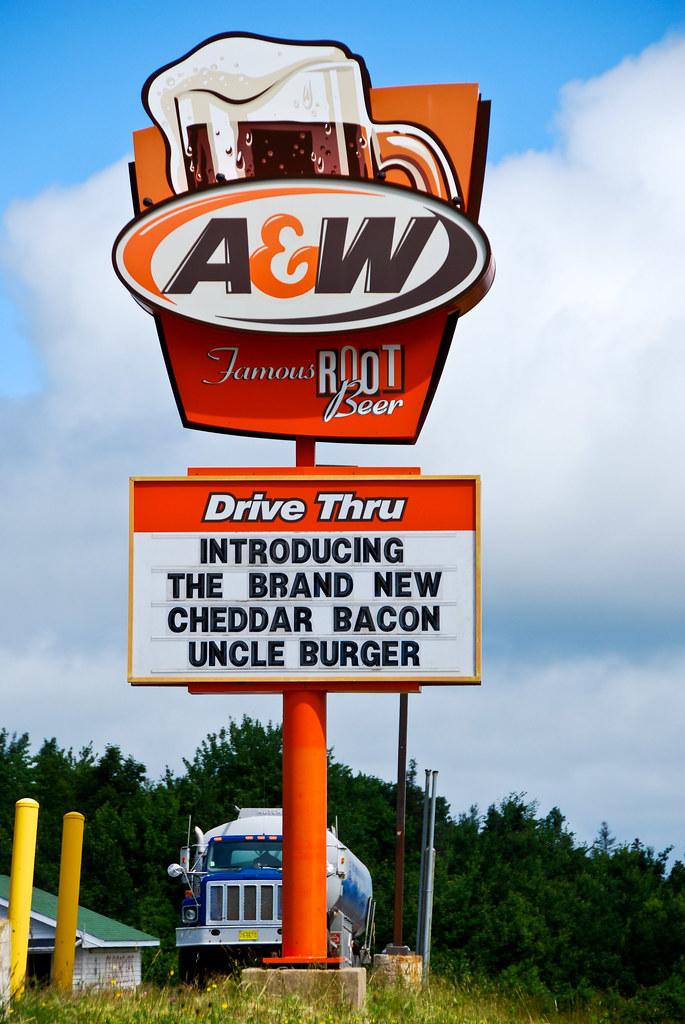 A&W Drive Thru