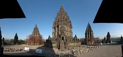 Prambanan: Vishnu, Shiva, Brahma temple