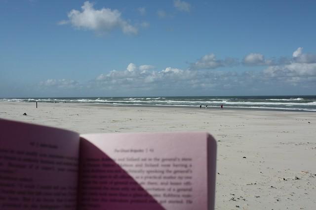 Konzentration auf Strand
