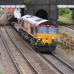 Oh Dear - another one of those intermodal thingies - this time with 66116 at Water Orton - 23 Sep 2009