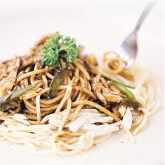 Food Photography : Chicken Spaghetti