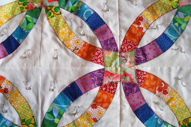 How Do I Make A Double Wedding Ring Quilt