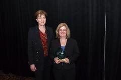 North Penn Legal Services Executive Director Vicki Coyle and Lori A. Malloy