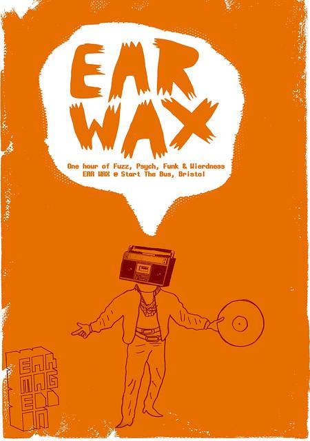 new mix = EARWAX = fuzz, psych, funk & wierdness