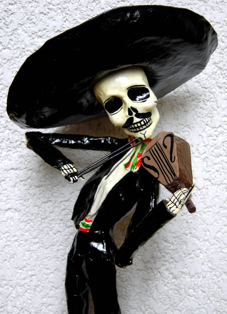 Mariachi a photo on flickriver jpg 908x1256 Mariachi calaveras mexicanas f222ca5984c00