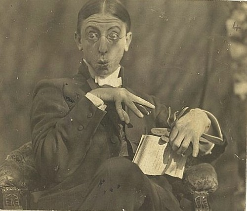 C.J. Dennis, poet, journalist and comic, ca. 1910 / photographer unknown