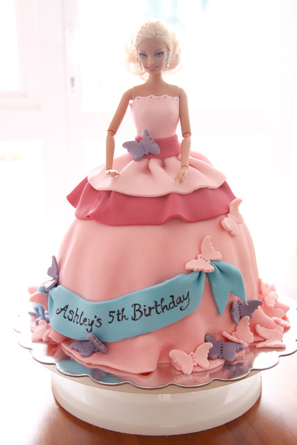 Pink Barbie Cake Flickr - Photo Sharing!