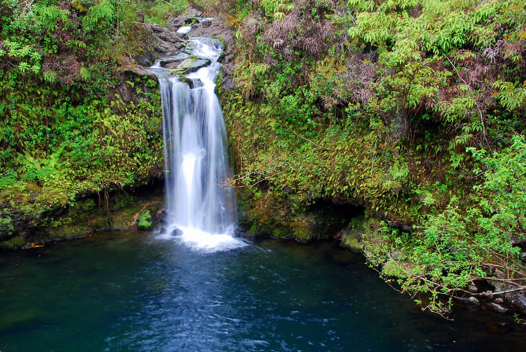 Waterfall on the Road to Hana: Things to do in Maui