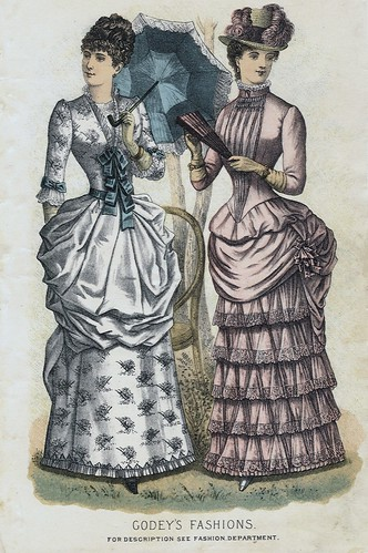 Godey' Lady's Book Spring 1884 Fashion Plate