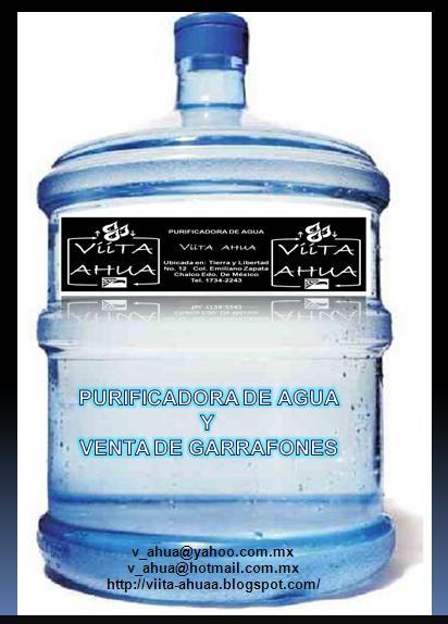 Viita ahua planta purificadora venta garrafon for Compro estanque de agua