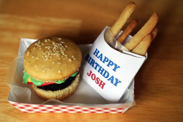 Hamburger Birthday Cake Pictures