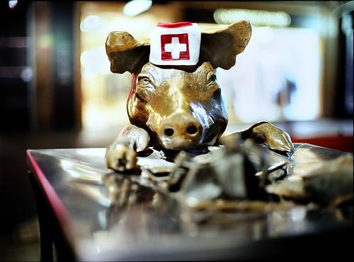 rundle mall swine flu #2 - 無料写真検索fotoq