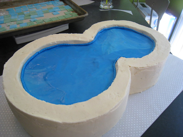 Swimming Cakes A Gallery On Flickr