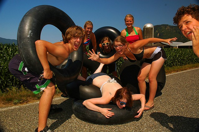 Tubing Party