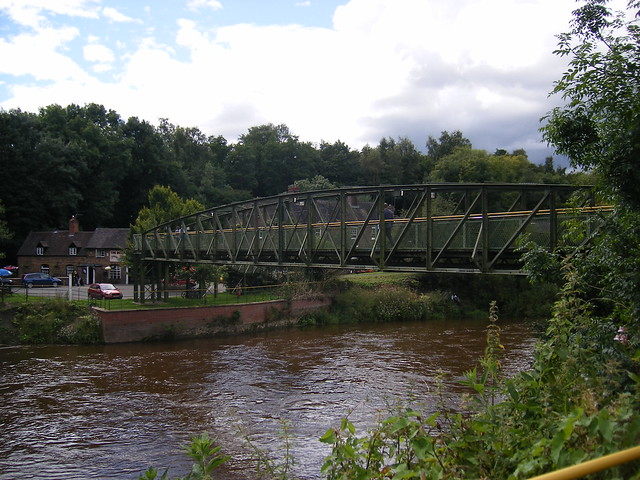 Jackfield & Coalport Memorial Bridge